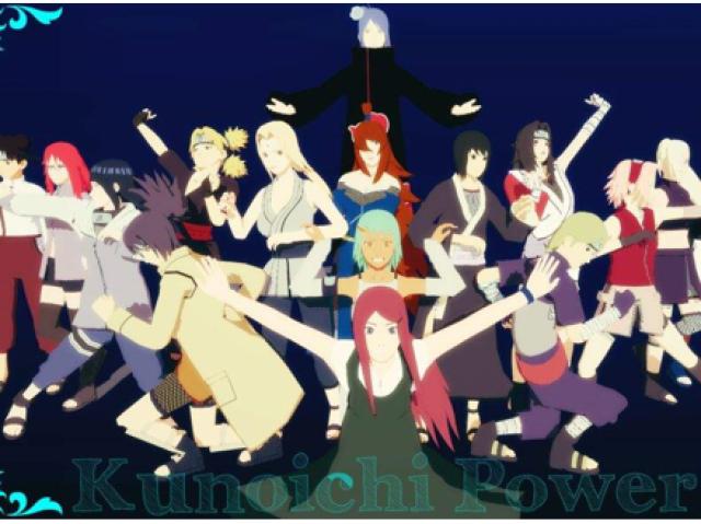 Qual kunoichi você seria em Naruto?