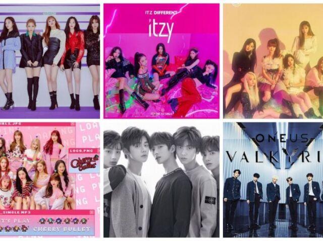 Qual grupo de k-pop você debutaria?