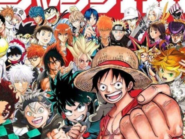 Você conhece esses personagens de anime?