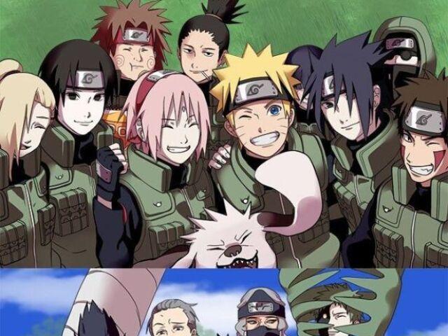 Acerte personagem de Naruto Hard
