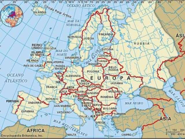 Que país da Europa você seria?