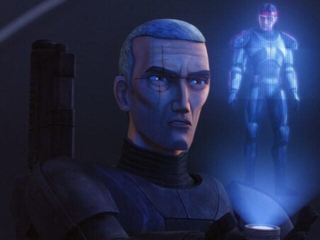 Tu sabes o nome do que apareceu em Star Wars: The Bad Batch - Episódio 8 (Personagens, organizações, armas...)?