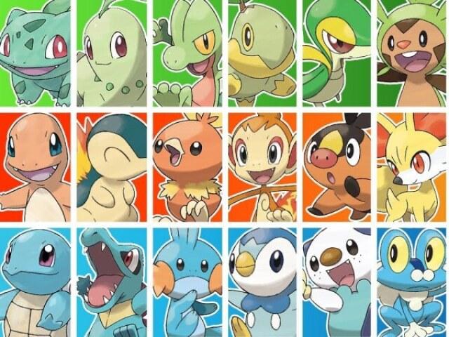 Qual é o melhor Pokémon inicial para você?