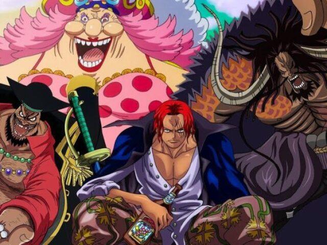 Qual yonkou você seria em One Piece?