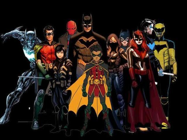 Quem você seria na Batfamily?