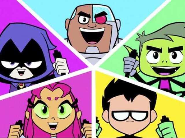 Quem você seria dos Jovens Titãs?