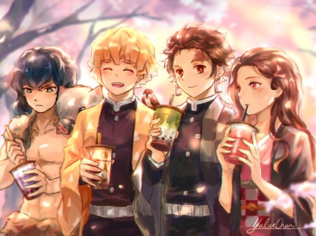 Quem você seria do quarteto principal de Kimetsu No Yaiba?