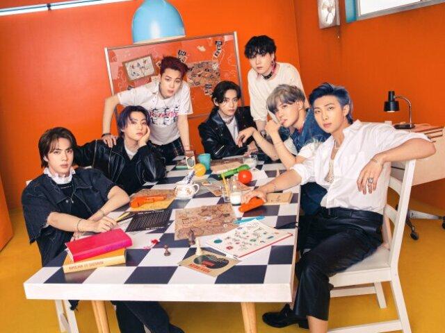 Quem do BTS te levaria a um baile?