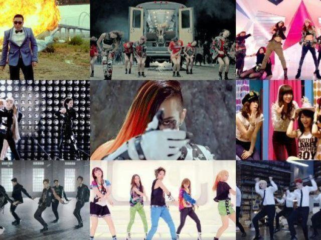Quais são os MVs do k-pop?