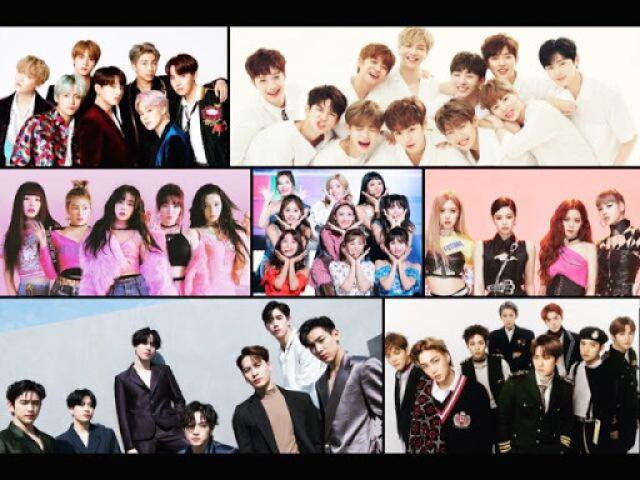 Você sabe mesmo os grupos de k-pop?