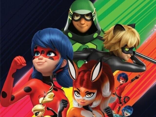 Que super-herói você seria em Miraculous: As aventuras de LadyBug