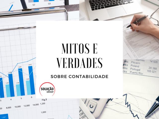Mitos e verdades sobre contabilidade