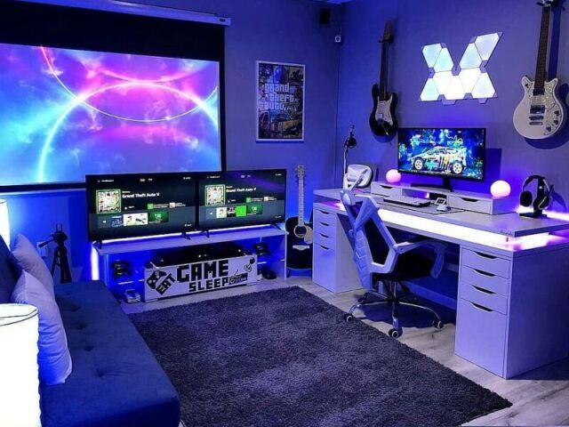 Monte seu quarto gamer