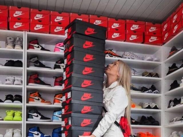 Monte seu closet de Tênis da Nike e Jordan