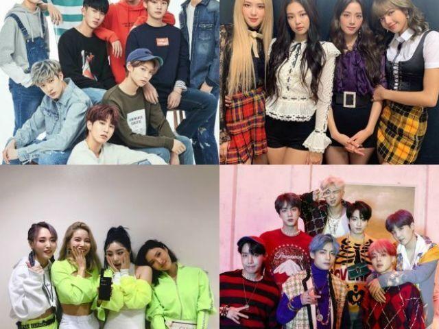 Em qual grupo você debutaria? (K-pop)