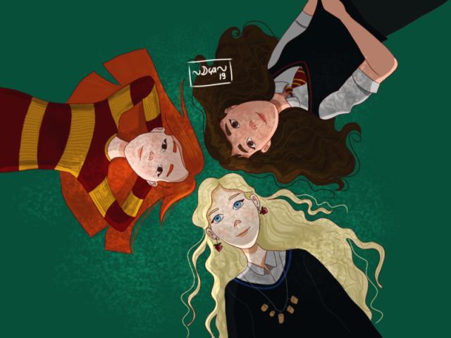 Qual das garotas Harry Potter você mais se parece