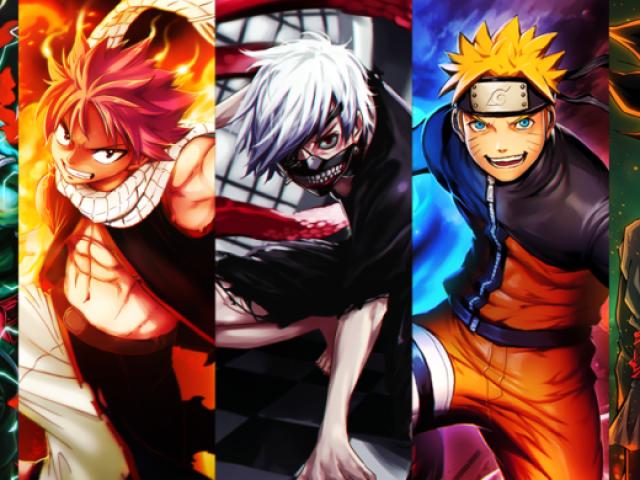 7 Melhores personagens de anime