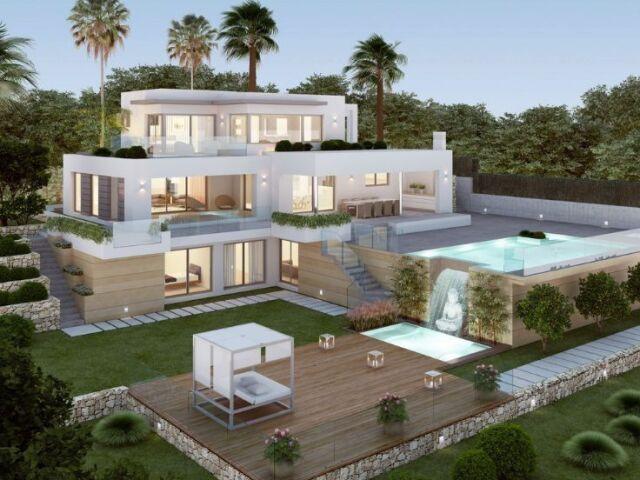 Monte sua casa moderna