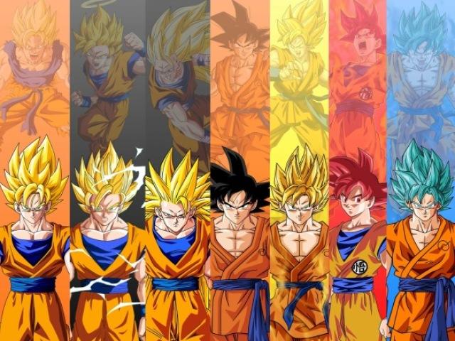 Qual super saiyajin você é?