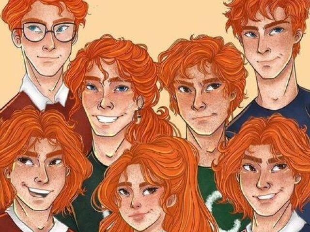 Você realmente conhece a família Weasley?