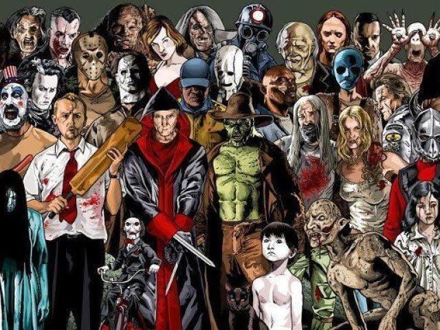 Qual personagem de filme de terror você seria?