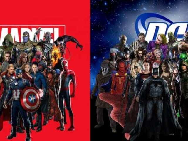 Você é Marvel ou DC?
