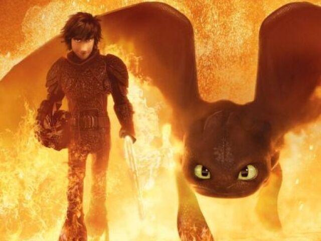 """Qual seria seu dragão em """"Como Treinar o Seu Dragão""""?"""