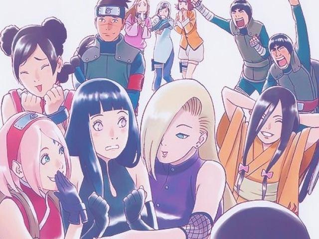 Você realmente conhece os personagens de Naruto?