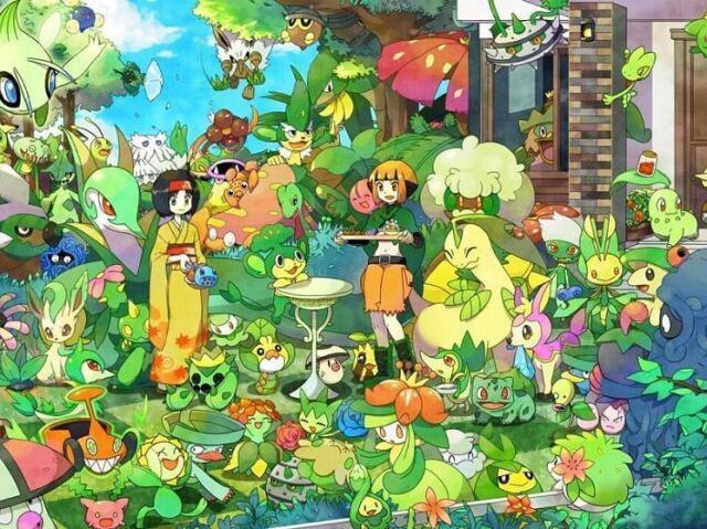 Qual Pokémon tipo planta você seria?