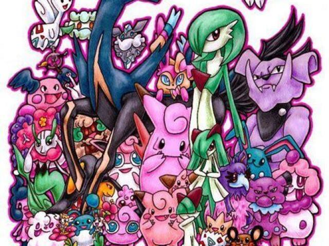 Qual Pokémon tipo fada você seria?