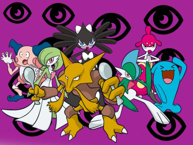 Qual Pokémon tipo psíquico você seria?