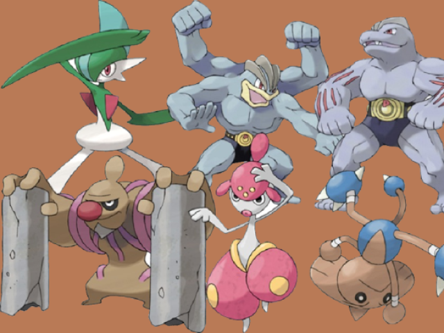 Qual Pokémon tipo lutador você seria?