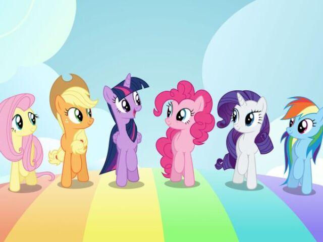 Qual pónei do My Little Pony mais combina com Você?