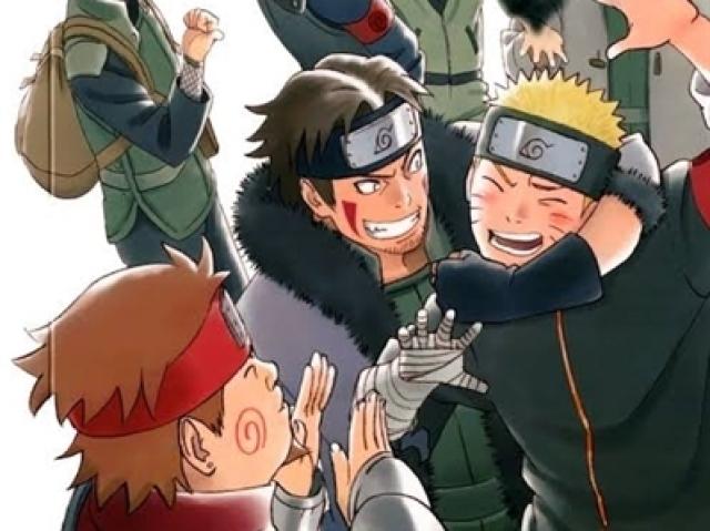 - Quem seria seu namorado em Naruto? -