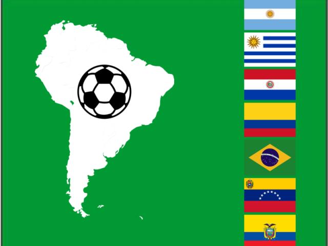 De que PAÍS é esse TIME? (América do Sul)
