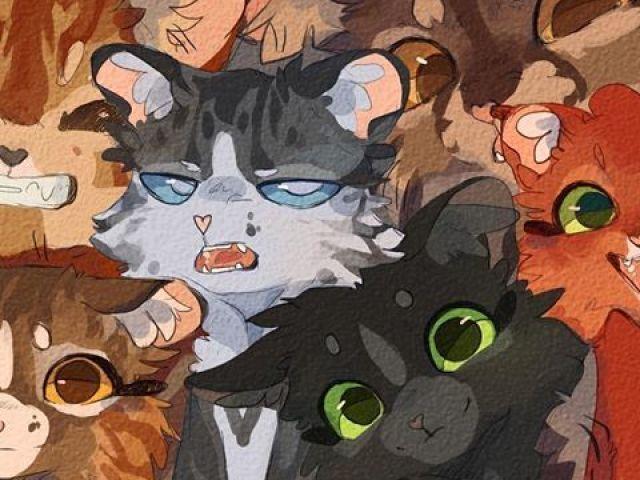 Qual personagem de Gatos Guerreiros você é?