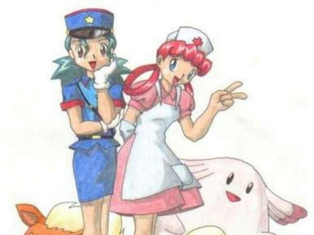 Você é mais oficial Jenny ou enfermeira Joy?