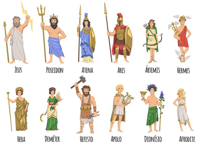 Diga-me o que preferes e te direi que dupla de deuses gregos es!