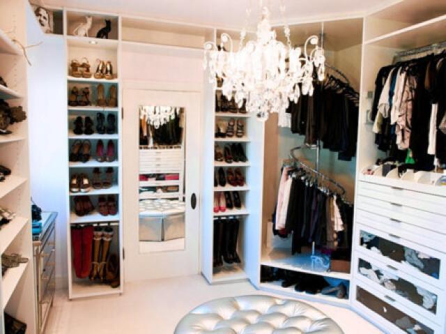 Monte seu closet de sonho