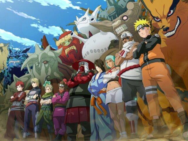 Todas as bijjus(尾獣besta de cauda) de Naruto