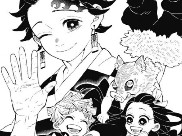 Você conhece Kimetsu no Yaiba (mangá)?