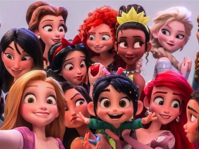 Monte sua princesa da Disney! 🍑