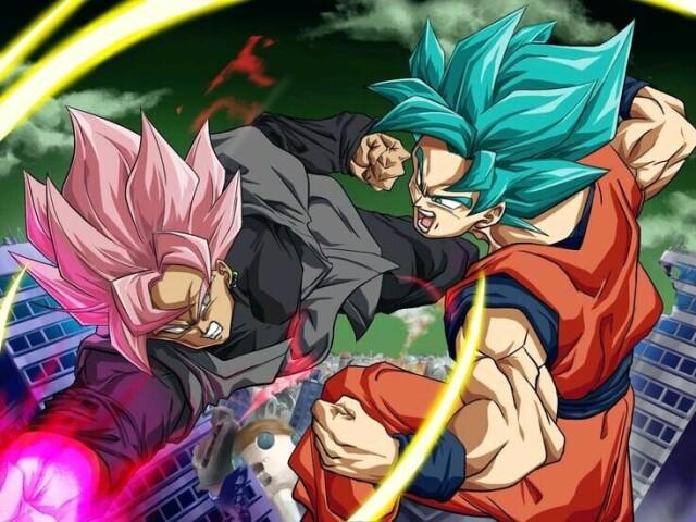 Quem você seria: Goku, Black ou Vegeta