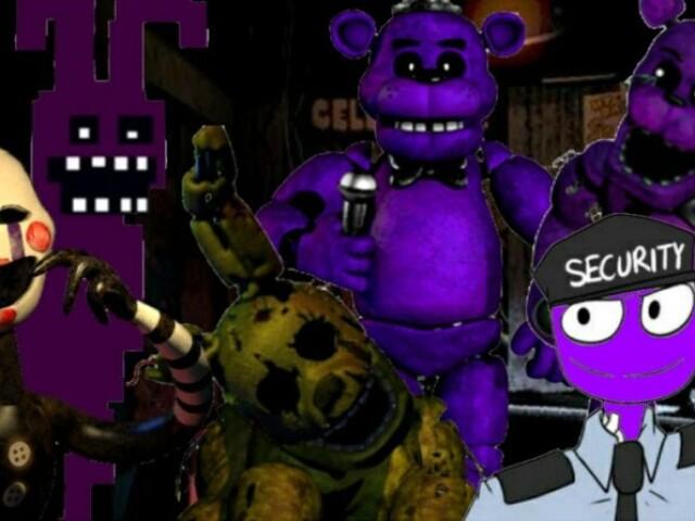 Qual o nome desse animatronico?