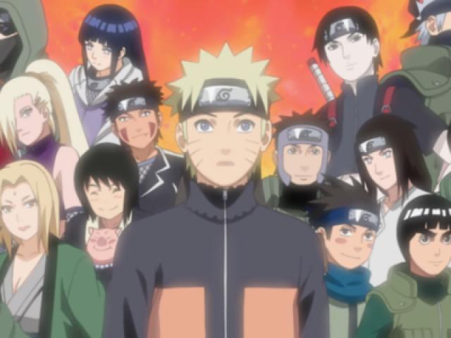 Top 10 Meus Personagens Preferidos de Naruto e Naruto Shippuden
