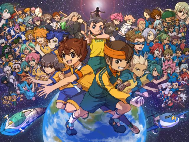 Você sabe o nome desses personagens de Inazuma Eleven(Clássico/Go/Chrono Stone/Galaxy/Ares/Orion)?
