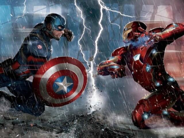 Você é mais homem de ferro ou capitão América?