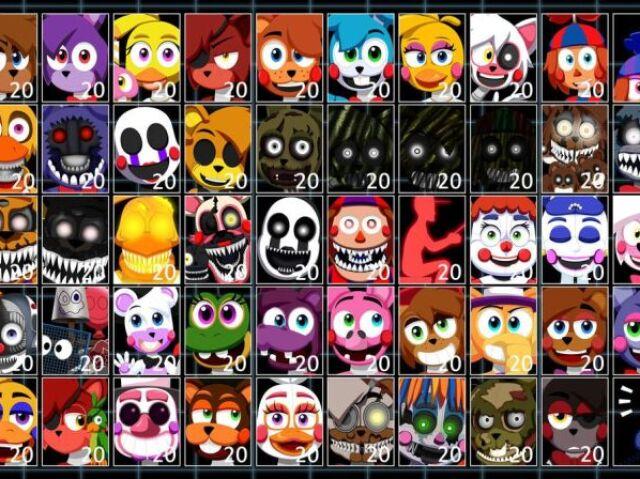 Você conhece todos os personagens de UCN?