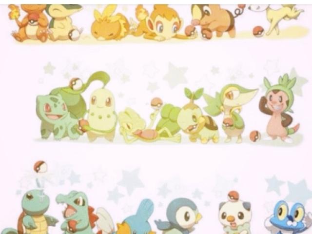 Qual pokemon inicial você é?