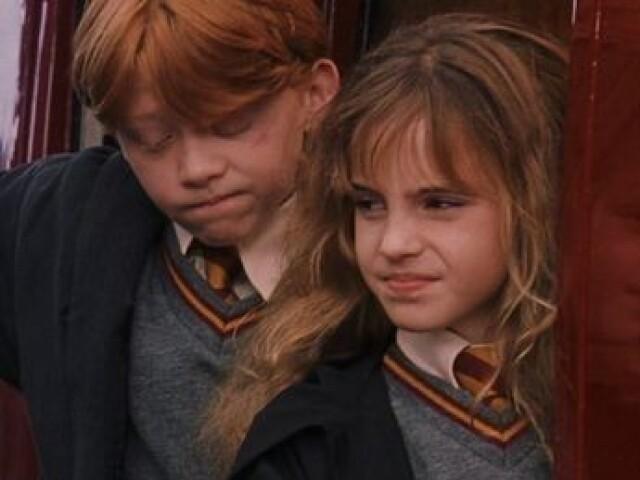 Você mais é Rony ou Hermione?🙃